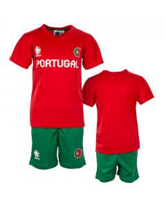 Portugal UEFA Euro 2020 Poly dječji trening komplet dres
