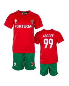Portugal UEFA Euro 2020 Poly dječji trening komplet dres (tisak po želji +12,30€)