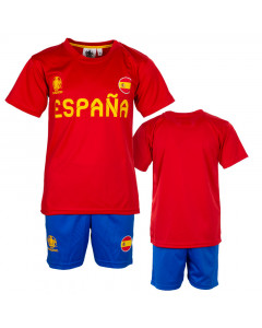 Španjolska UEFA Euro 2020 Poly dječji trening komplet dres