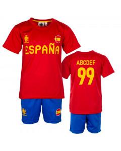 Španjolska UEFA Euro 2020 Poly dječji trening komplet dres (tisak po želji +12,30€)