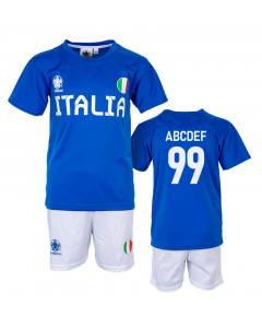 Italija UEFA Euro 2020 Poly otroški trening komplet dres (poljubni tisk +15€)