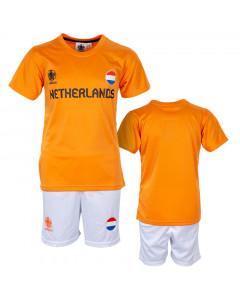 Nizozemska UEFA Euro 2020 Poly dječji trening komplet dres