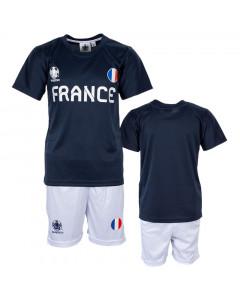 Francuska UEFA Euro 2020 Poly dječji trening komplet dres