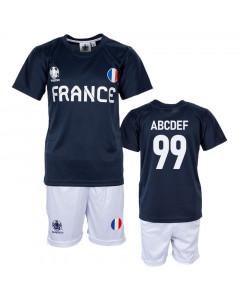 Francuska UEFA Euro 2020 Poly dječji trening komplet dres (tisak po želji +12,30€)