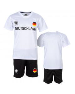Deutschland UEFA Euro 2020 Poly Kinder Training Trikot Komplet Set