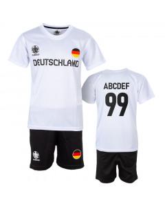Deutschland UEFA Euro 2020 Poly Kinder Training Trikot Komplet Set (Druck nach Wahl +15€)