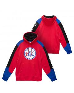 Philadelphia 76ers Mitchell & Ness Fusion Kapuzenpullover Hoody