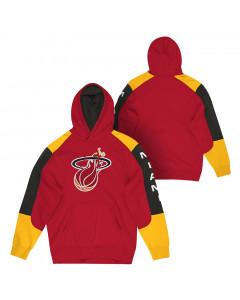 Miami Heat Mitchell & Ness Fusion pulover sa kapuljačom