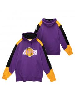 Los Angeles Lakers Mitchell & Ness Fusion pulover sa kapuljačom
