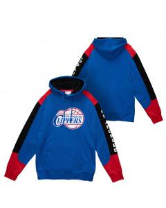 Los Angeles Clippers Mitchell & Ness Fusion pulover sa kapuljačom