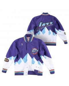 Utah Jazz 1997-98 Mitchell & Ness Authentic Warm Up jakna