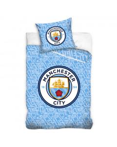 Manchester City Glow In The Dark Bettwäsche 140x200