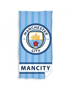 Manchester City Badetuch 140x70