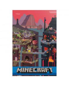 Minecraft World 85 Poster 61x91