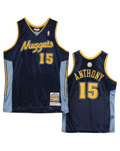 Carmelo Anthony 15 Denver Nuggets 2006-07 Mitchell and Ness Authentic dres