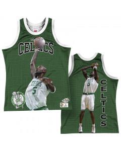 Kevin Garnett5 Boston Celtics Mitchell & Ness Behind the Back Player Tank Top majica