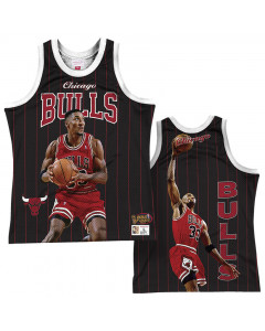 Scottie Pippen 33 Chicago Bulls Mitchell & Ness Behind the Back Player Tank Top majica