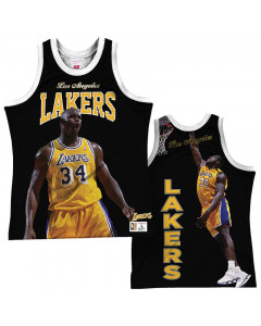 Shaquille O'Neal 34 Los Angeles Lakers Mitchell & Ness Behind the Back Player Tank Top majica