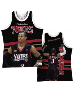 Allen Iverson 3 Philadelphia 76ers Mitchell & Ness Behind the Back Player Tank Top majica