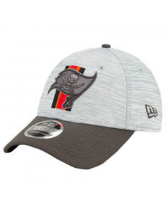 Tampa Bay Buccaneers New Era 9FORTY Official NFL Training Digi-Tech Heather Stretch Snap kapa
