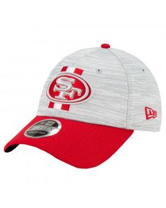 San Francisco 49ers New Era 9FORTY Official NFL Training Digi-Tech Heather Stretch Snap Mütze