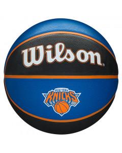 New York Knicks Wilson NBA Team Tribute košarkaška lopta 7