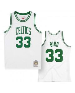 Larry Bird 33 Boston Celtic 1985-86 Mitchell & Ness Swingman Home dres