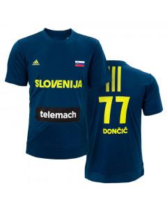 Slovenija Adidas KZS ogrevalna majica Dončić 77