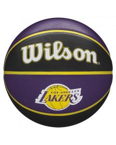 Los Angeles Lakers Wilson NBA Team Tribute košarkaška lopta 7