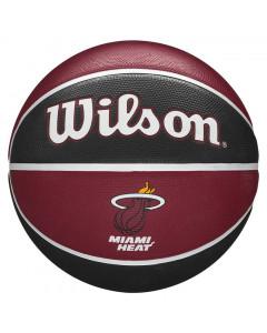 Miami Heat Wilson NBA Team Tribute košarkaška lopta 7