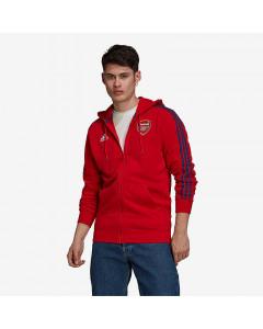 Arsenal Adidas 3S Full-Zip majica sa kapuljačom