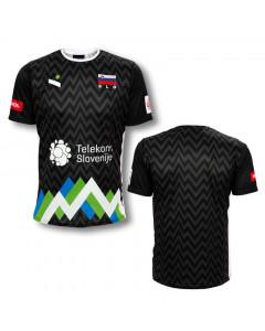 Slowenien OZS Ninesquared Replika Trikot  Black
