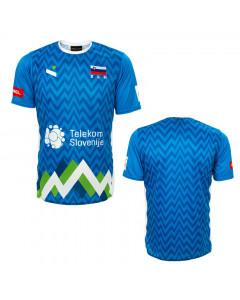 Slowenien OZS Ninesquared Replika Trikot Blue