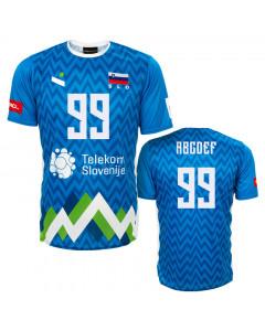 Slowenien OZS Ninesquared Replica Trikot Blue (Druck nach Wahl + 20€)