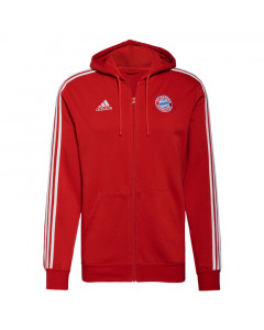 FC Bayern München Adidas 3S Full-Zip Kapuzenjacke