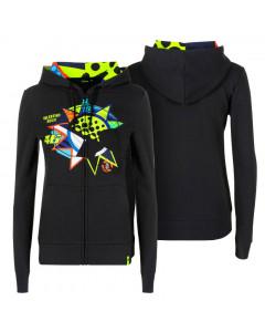 Valentino Rossi VR46 Winter Test ženska zip majica sa kapuljačom