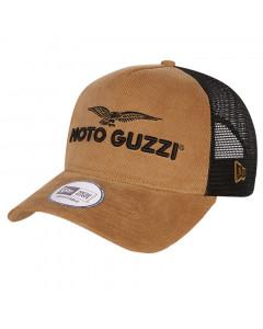 Moto Guzzi New Era Trucker Micro Cord Mütze