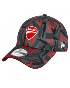 Ducati New Era 9FORTY Featherweight Poly AOP Sublimation Mütze