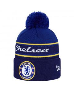 Chelsea New Era Bobble Team Logo zimska kapa