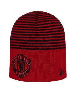 Manchester United New Era Stripe Skull zimska kapa