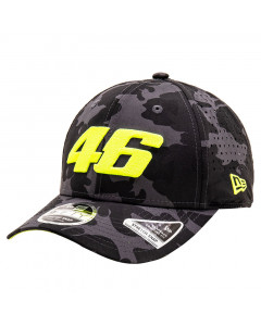Valentino Rossi VR46 New Era 9FIFTY Camo Featherweight Poly Strech Snap kapa