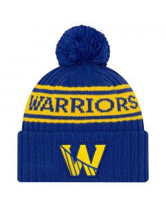 Golden State Warriors New Era 2021 NBA Official Draft Wintermütze