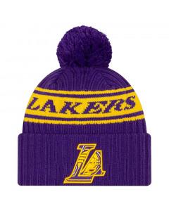 Los Angeles Lakers New Era 2021 NBA Official Draft zimska kapa