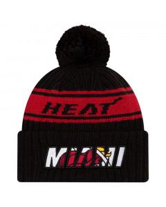 Miami Heat New Era 2021 NBA Official Draft zimska kapa