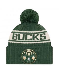 Milwaukee Bucks New Era 2021 NBA Official Draft zimska kapa
