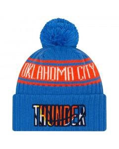 Oklahoma City Thunder New Era 2021 NBA Official Draft zimska kapa