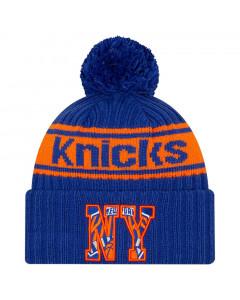 New York Knicks New Era 2021 NBA Official Draft zimska kapa