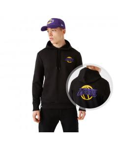 Los Angeles Lakers New Era Neon PO pulover sa kapuljačom