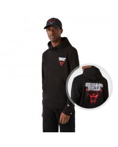 Chicago Bulls New Era Neon PO pulover sa kapuljačom