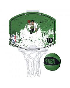 Boston Celtics Wilson Fanatic Mini Hoop sobni koš